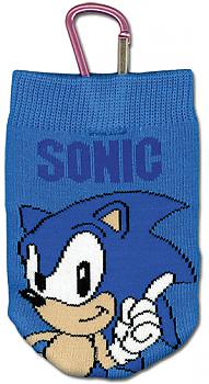 Sonic Phone Bag - Classic Sonic Knitted