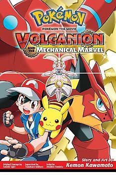 Pokemon: Volcanion and the Mechanical Marvel Manga