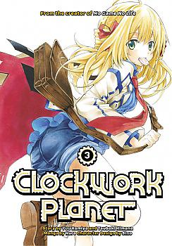 Clockwork Planet Manga Vol. 3