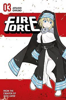 Fire Force Manga Vol. 3