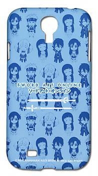Sword Art Online Samsung S4 Case - SD Characters