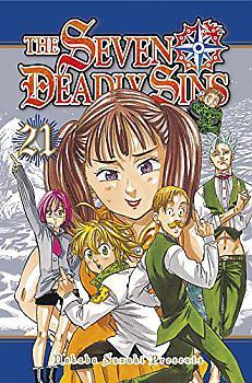 Seven Deadly Sins Manga Vol. 21