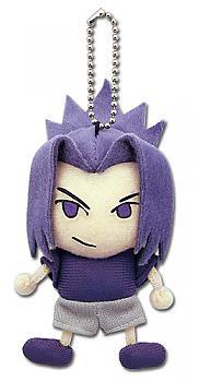 Naruto Shippuden Plush Key Chain - Sasuke (Plain Clothes)