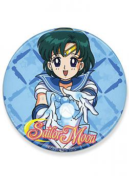 Sailor Moon 3'' Button - Mercury