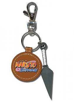 Naruto Shippuden Key Chain - Kunai with Leather Patch