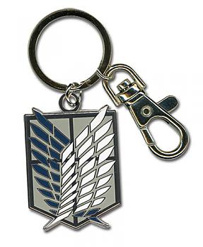 Attack on Titan Key Chain - Scout Regiment Metal