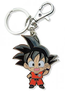 Dragon Ball Z Key Chain - Metal SD Goku