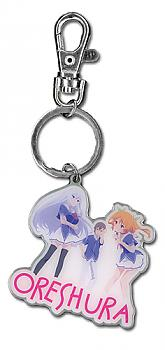 Oreshura Key Chain - Group Metal