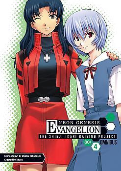 Evangelion: Shinji Ikari Raising Project Omnibus Manga Vol. 4