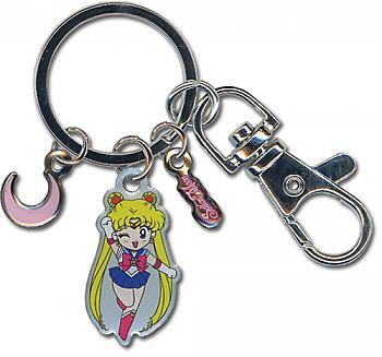 Sailor Moon Key Chain - Sailor Moon Metallic