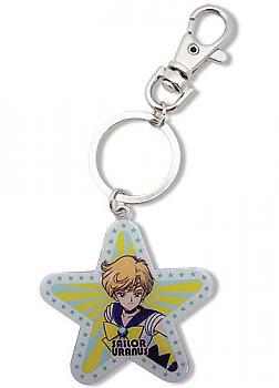 Sailor Moon Key Chain - Uranus Star Metal