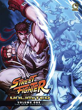 Street Fighter Unlimited Manga Vol. 1: The New Journey