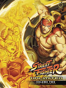Street Fighter Unlimited Manga Vol. 2: Gathering