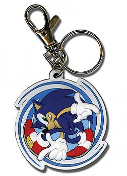 Sonic The Hedgehog Key Chain - Pose/Spin