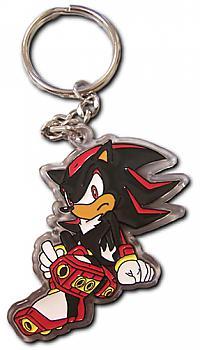 Sonic X Key Chain - Shadow Acrylic