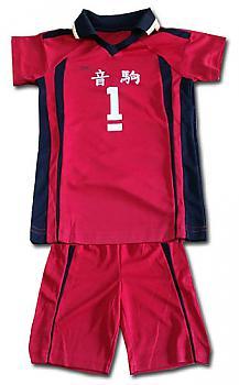 Haikyu!! Costume - Nekoma #1 Uniform (XXL)