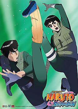 Naruto Shippuden Wall Scroll - Rock Lee & Mighty Guy