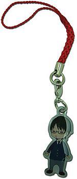 World Trigger Phone Charm - SD Osamu Metal