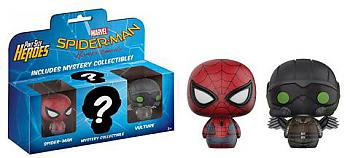 Spiderman Homecoming Pint Size Heroes -Spiderman and Vulture Series 2 Figure (3-Pack)