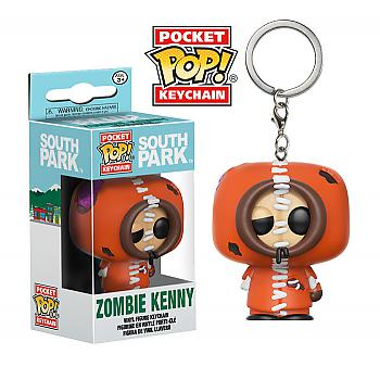 South Park Pocket POP! Key Chain - Zombie Kenny