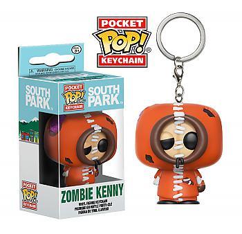 South Park Pocket POP! Key Chain - Zombie Kenny
