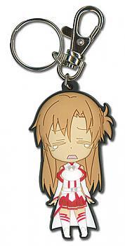 Sword Art Online Key Chain - Chibi Asuna Crying