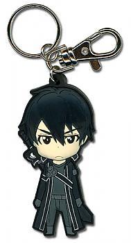 Sword Art Online Key Chain - Chibi Kirito Angry