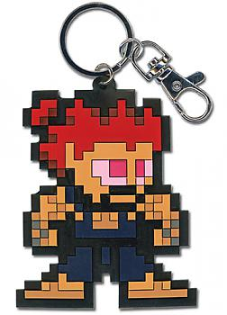 Street Fighter IV Key Chain - Akuma 8-Bit