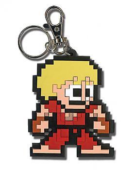 Street Fighter IV Key Chain - Ken 8-Bit