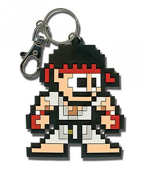 Street Fighter IV Key Chain - Ryu 8-Bit