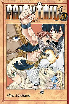 Fairy Tail Manga Vol. 61