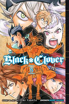 Black Clover Manga Vol.   8