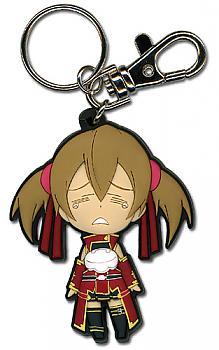 Sword Art Online Key Chain - Chibi Silica Crying