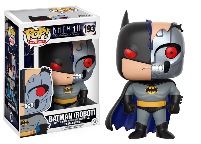 Batman Animated Series Pop Vinyl Figure Hardac