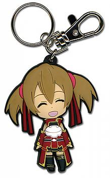 Sword Art Online Key Chain - Chibi Silica Open Mouth Smile