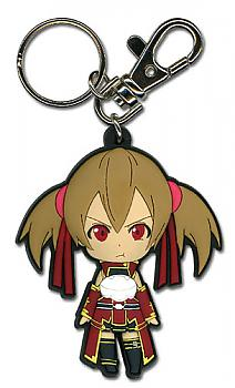 Sword Art Online Key Chain - Chibi Silica Pouting