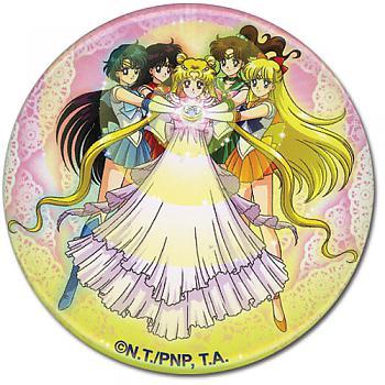 Sailor Moon 3'' Button - Serenity Group