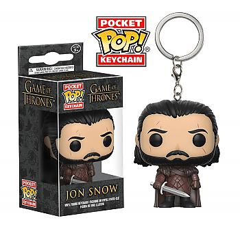 Game of Thrones Pocket POP! Key Chain - Jon Snow