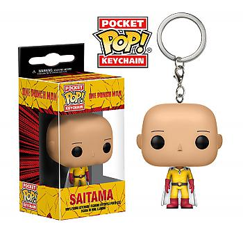 One-Punch Pocket POP! Key Chain - Saitama