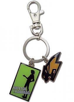 Tiger & Bunny Key Chain - Kotetsu Metal