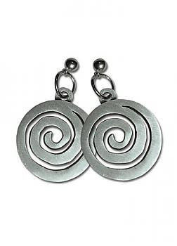 Naruto Shippuden Earrings - Uzushio Clan Symbol (Set of 2)