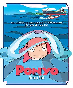 Art Book: Ponyo on the Cliff by the Sea Picture Book