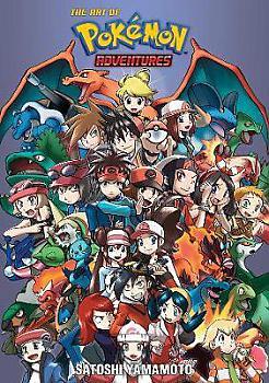 Pokemon - 20th Anniversary Illustration Book Art Book - The Art of Pokemon Adventures