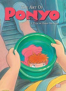 Ponyo Art Book - Art of Ponyo