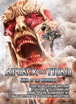 Attack on Titan: End of the World Movie Adaptation Novel