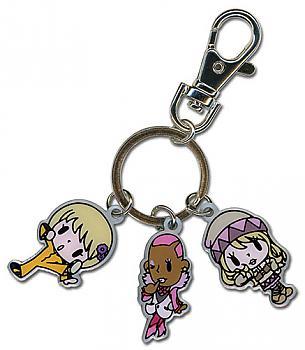 Tiger & Bunny Key Chain - SD Pao-Lin, Nathan & Karina Metal