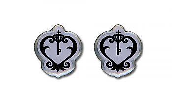 Black Butler Earrings - Sebastian's Watch Emblem