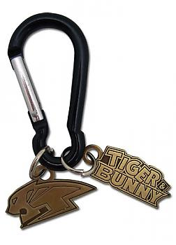 Tiger & Bunny Key Chain - Wild Tiger Logo Metal with Hook