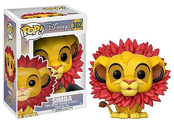 Lion King POP! Vinyl Figure - Simba (Leaf Mane) (Disney)