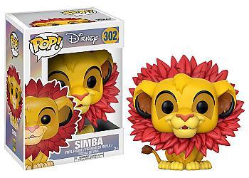 Lion King POP! Vinyl Figure - Simba (Leaf Mane) (Disney)